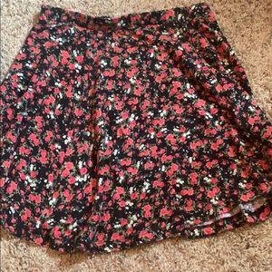 Floral skirt, Forever 21, size medium